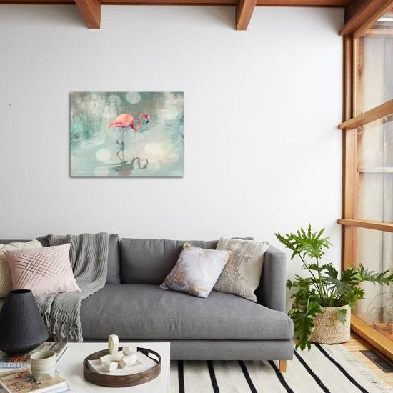 Dreamy Flamingo Giclee Print The Gingham Owl Art Com