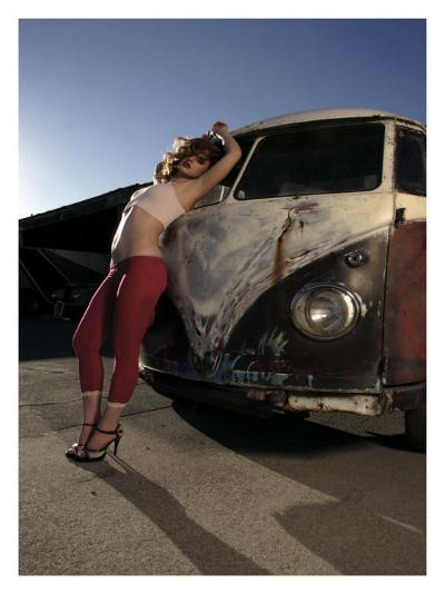 Dreamy Pick Up-David Perry-Giclee Print