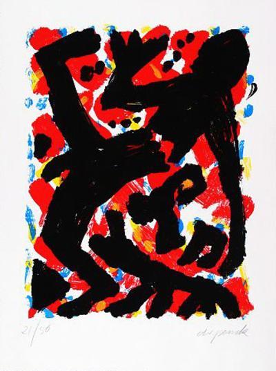 Dresden, c.1992 Blatt 2-A^ R^ Penck-Limited Edition