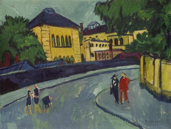 Dresden, Friedrichstadt, 1909-Ernst Ludwig Kirchner-Giclee Print