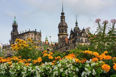 Dresden, Summer, Dresden Cathedral, Castle-Catharina Lux-Photographic Print