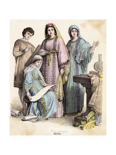 Dress, Early Christians--Giclee Print