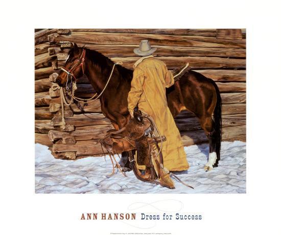 Dress for Success-Ann Hanson-Art Print