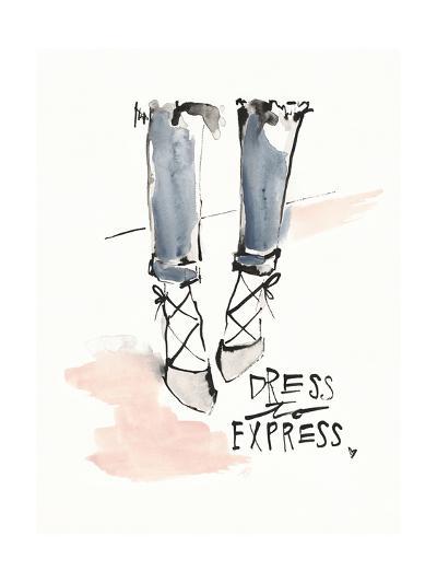 Dress to Express-Megan Swartz-Art Print