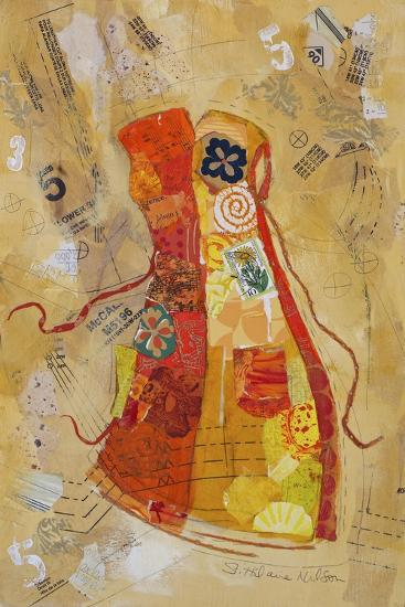 Dress Whimsy II-Elizabeth St. Hilaire-Art Print