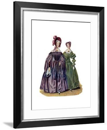 Dress Without Art, 1836--Framed Giclee Print