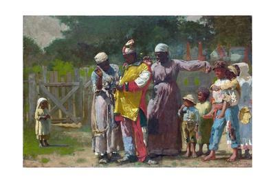 Dressing for the Carnival-Winslow Homer-Giclee Print