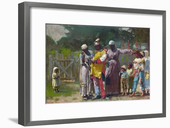 Dressing for the Carnival-Winslow Homer-Framed Giclee Print