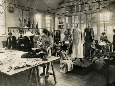 Dressmaker's Workshop-Peter Higginbotham-Photographic Print
