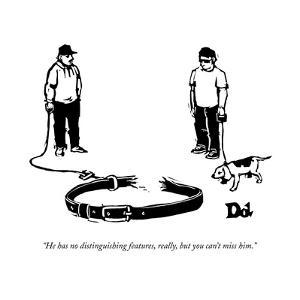 New Yorker Cartoon by Drew Dernavich