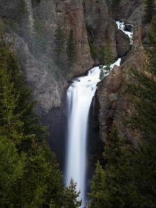 Tower Falls in Yellowstone National Park, Wyoming by Drew Rush
