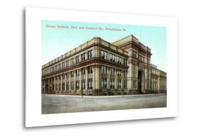 Drexel Institute, Philadelphia