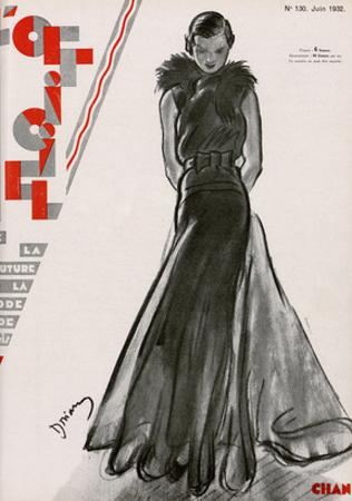 L'Officiel, June 1932 - Création Chanel
