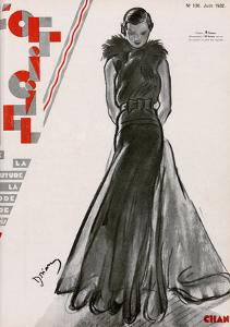 L'Officiel, June 1932 - Création Chanel by Drian