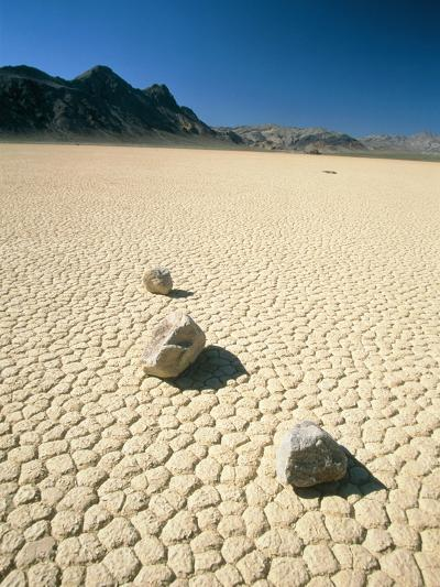 Dried clay, Death Valley, Nevada, USA-Frank Lukasseck-Photographic Print
