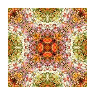 Dried Flower and Leaf Ornament 34-Alaya Gadeh-Art Print
