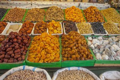 Dried Fruit for Sale in a Baku Bazaar-Will Van Overbeek-Photographic Print