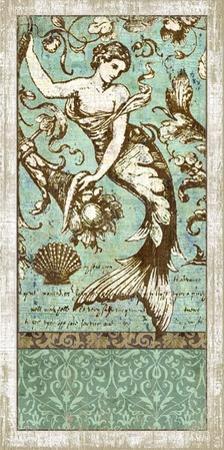 Drift. Mermaid #2 Wood Sign