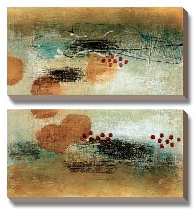 Drifting Current II-Heather Mcalpine-Canvas Art Set