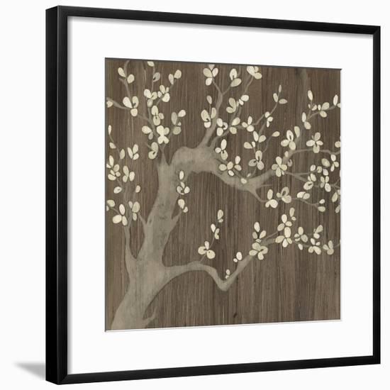 Driftwood Cherry I-June Vess-Framed Art Print