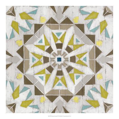 Driftwood Mandala I-June Vess-Art Print