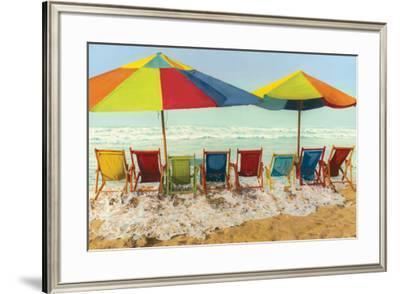 Drink Deep, Begin Another Carefree Day-Robin Renee Hix-Framed Art Print