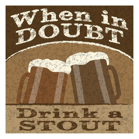 Drink Doubts-Melody Hogan-Art Print