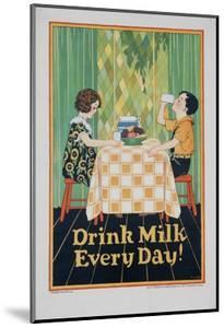 Drink Milk Every Day Poster