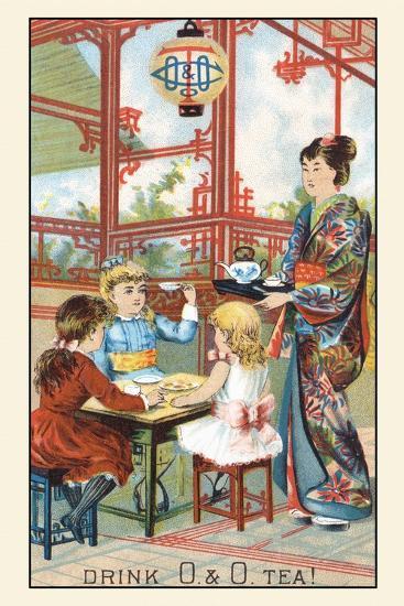 Drink O and O Tea!--Art Print