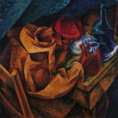 Drinker-Umberto Boccioni-Giclee Print