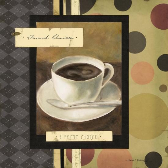 Drinking French Vanilla Coffee-Carol Robinson-Art Print