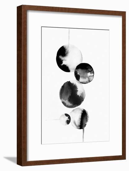 Dripping Bubbles I-PI Studio-Framed Art Print