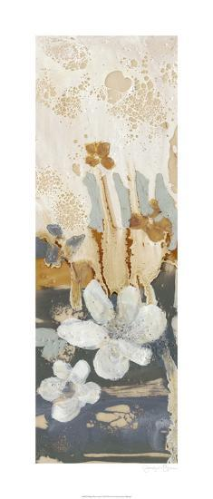 Drippy Flower Abstract I-Jennifer Goldberger-Limited Edition