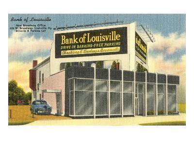 Drive-in Bank of Louisville--Art Print