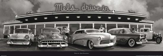 Drive-in San Francisco (Mel's)-Unknown-Art Print