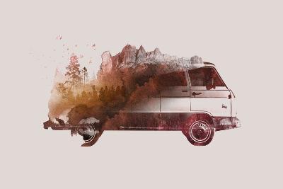 Drive Me Back Home No. 1-Robert Farkas-Art Print