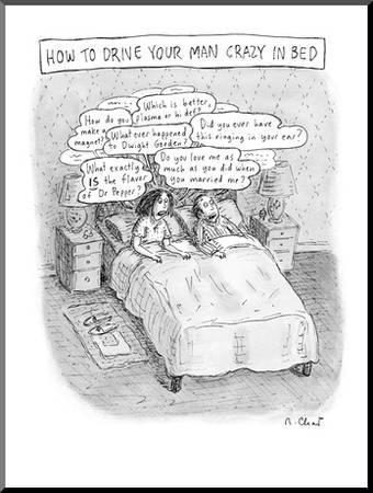 Drive Your Man Crazy New Yorker Cartoon Premium Giclee Print Roz Chast Art Com