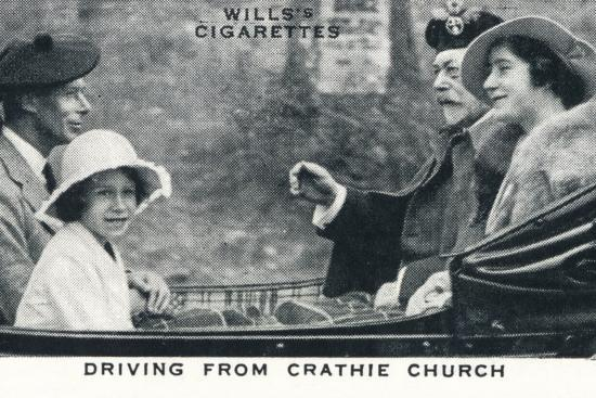 'Driving from Crathie Church', 1935 (1937)-Unknown-Photographic Print