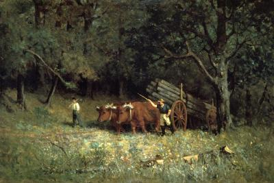 Driving Home the Cows, 1881-Edward Mitchell Bannister-Giclee Print