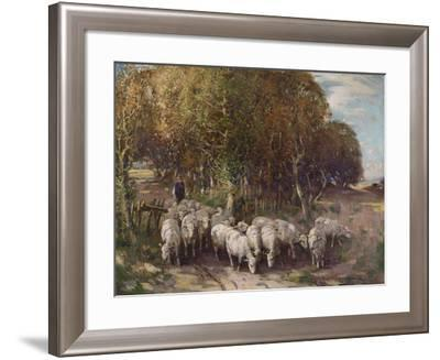 Driving the Flock-George Smith-Framed Giclee Print