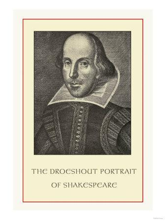 Droeshent Portrait of Shakespeare--Art Print