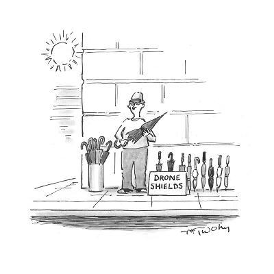 Drone Shields - Cartoon-Mike Twohy-Premium Giclee Print