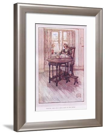 Dropping Them into a China Basin of Fair Water-Sybil Tawse-Framed Giclee Print