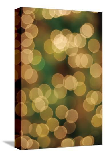 Drops on my Window-Carolina Pecora-Stretched Canvas Print