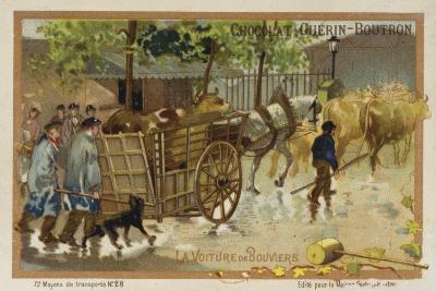 Drover's Wagon--Giclee Print