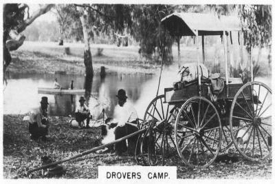 Drovers Camp, Australia, 1928--Giclee Print