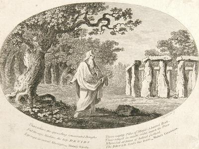 Druid, from 'Antiquities of England and Wales' by Frances Grose--Giclee Print