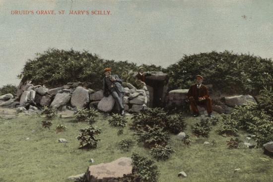 Druid's Grave, St Mary's Scilly--Photographic Print