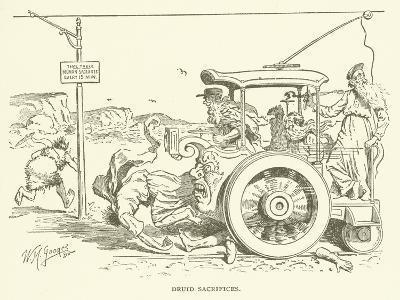 Druid Sacrifices--Giclee Print