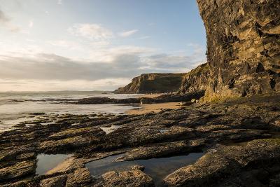 Druidston Haven Beach at Dusk, Pembrokeshire Coast National Park, Wales, United Kingdom, Europe-Ben Pipe-Photographic Print